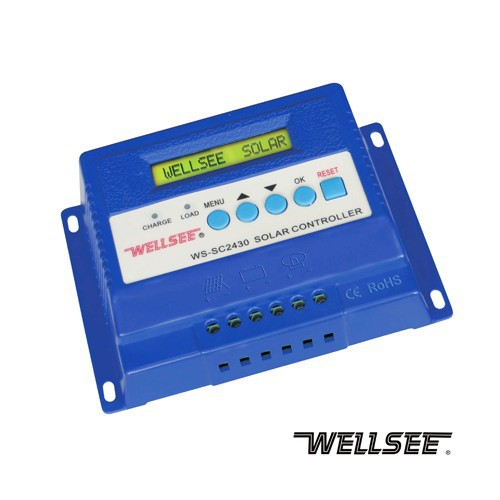 Wellsee 3phase solar system charger controller WS-SC2430