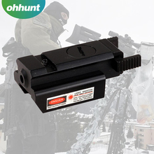 Compact hunting Tactical laser sight red do long distance hunting laser sight with 20mm Picatinny Rail Mount