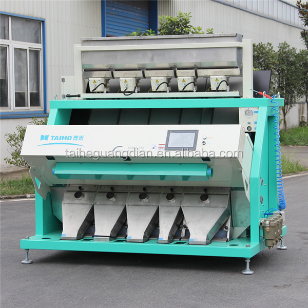TAIHO large capacity peanuts color sorter machine with 315 channels