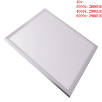 factory directly selling panel led light 40w/48w white housing with dia-casting metiral