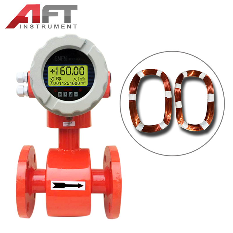 automatic water flow control electromagnetic flow meter