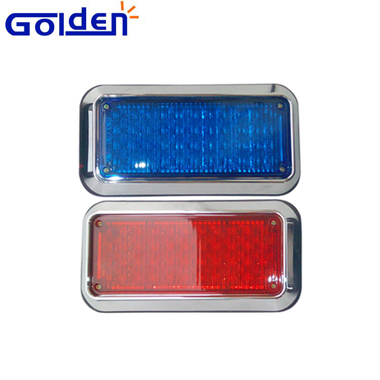Flashing led emergency beacon strobe ambulance lights 12 volt recover with pole permanent mount