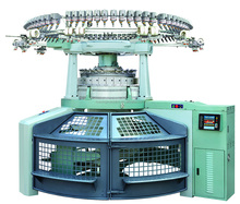 Thick Needles Double Jersey Computerize Jacquard Circular Knitting Machine