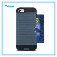 The newest safety cover for mobile phone for iphone 5 card case, free sample for iphone5 case