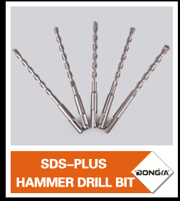 Professional Hex Shank Rotary Hammer Drill Bit For Concrete