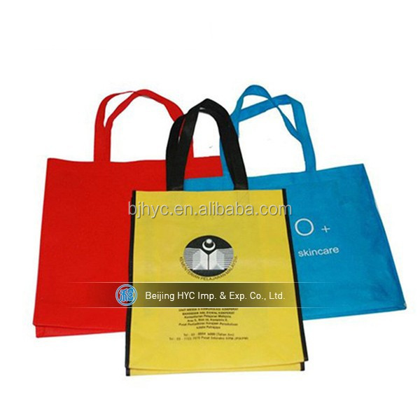 Non Woven Reusable Eco Carrying Shopping Grocery Tote Bag Various Color Available