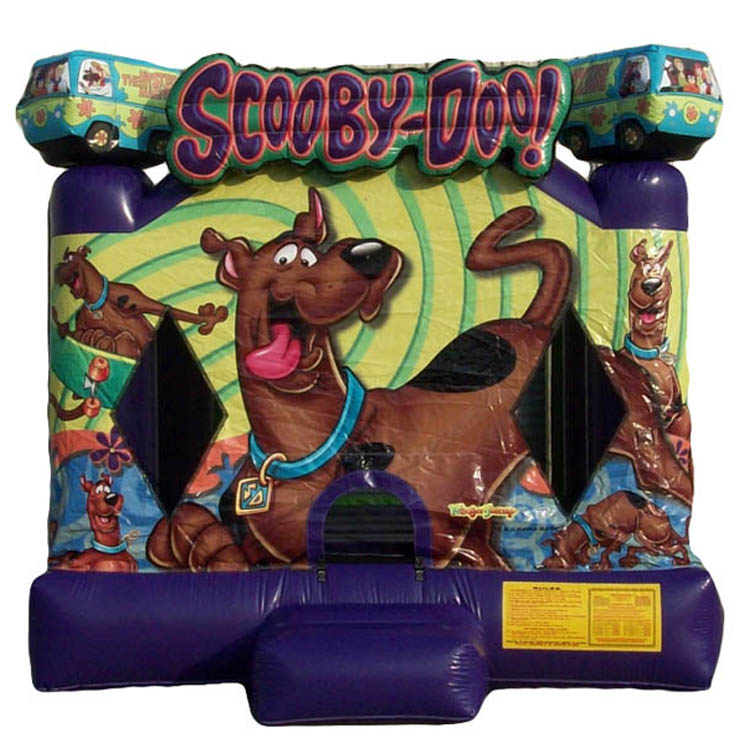hot sale Scooby Doo inflatable bouncer jumper/ jumping bouncy castle/ moon bounce house factory price