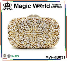 Matching Shoes Luxury Gold Clutch Dinner Evening Ladies Bag