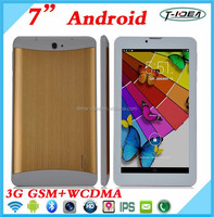 Cheap Android Smart Phone 7 Inch Tablet Pc 3G Sim Card Slot With Bluetooth Wifi