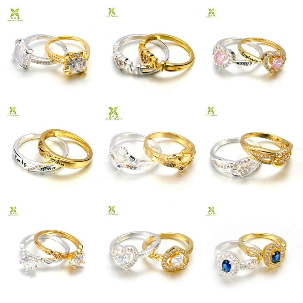 Fashion women rings gold plated womens loveing <strong>jewelry</strong>