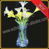 unshaped folding display flower vase