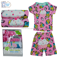 Summer bulk wholesale kids clothing baby clothes sets