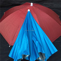 J1017 35cmX8panels steel frame promotional head umbrella,cap umbrella ,umbrella hat