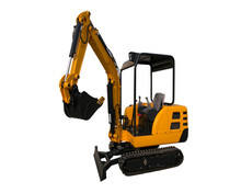Mini hydraulic excavator 2.2 tones Earth Moving Machine Construction Machinery Excavator for sale