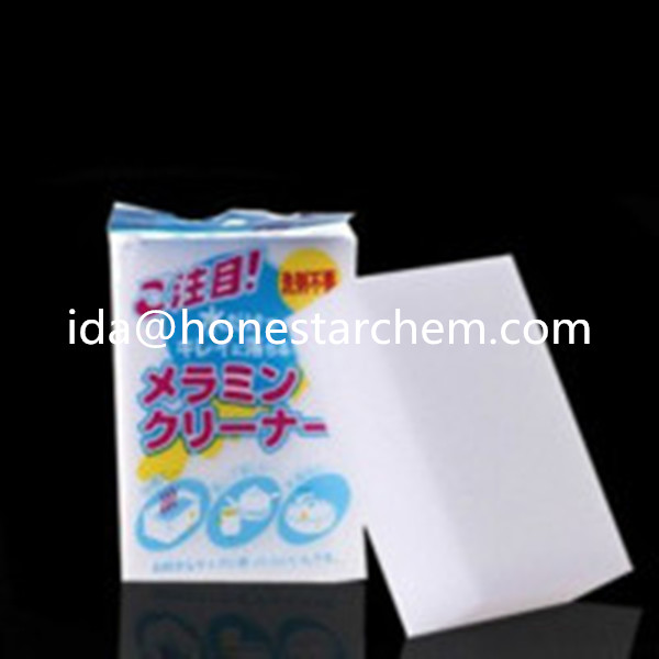 Colorful Packaging Magic Eraser Sponge/Melamine Sponge