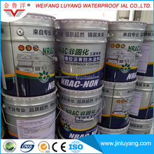 Self sealing liquid rubber modified asphalt waterproof coating