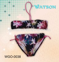 children basic two piece swimwear bikini