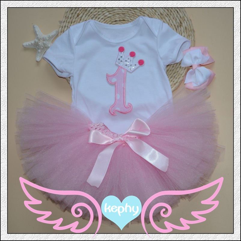 2015 new born to 18monthes baby clothing, tutu dresses with headband
