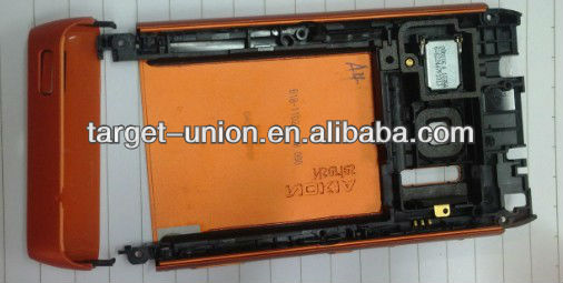Mobile phone rear housing cover for nokia n8