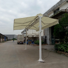 SZC-3500 aluminum removable double side retractable awning