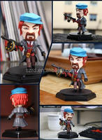 Latest vivid fantastic wholesale moveable cartoon figure,3d pvc cartoon toys factory,custom cartoon pvc vinyl toy maker