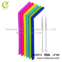 CUSTOM COLORS& LOGO silicone reusable straws for baby drinking,swirling stripes silicone baby bottle straw,custom drinking straw