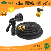 plastic/brass connector 100 ft expandable garden hose brass fitting