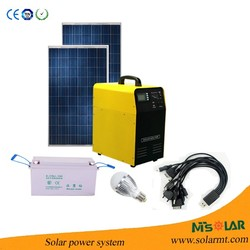 Easy installation 12kw home solar power systems 220v include small solar panel also with power supplies