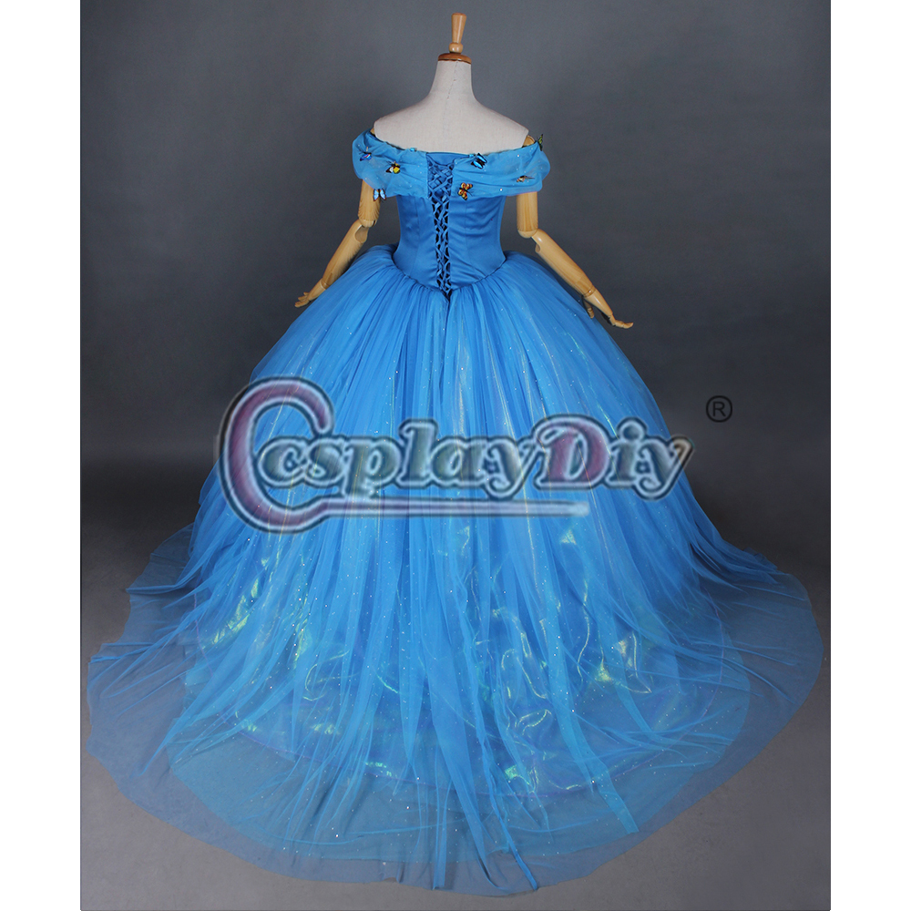 custom made cinderella dress for adult women cosplay costume
