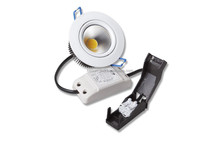 Hot!! Nordic low height high lumen 600lm 95ra led downlight 80mm cutout with connection box