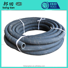 flexible textile braided rubber types of air pipe and rubbe water hose