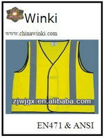 120gsm Tricot or Mesh Reflecitve Safety Vest For Sell
