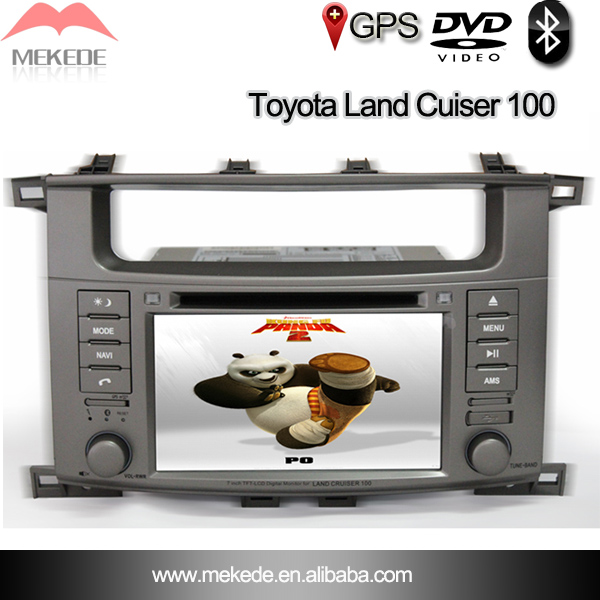 car dvd, toyota land Cruiser car dvd player with GPS,ipod,TV and bluetooth function