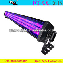 Professional Stage Light 252*f10mm UV LEDs Rigid Strip LED Wall Wash Mega Bar LED UV Black Light