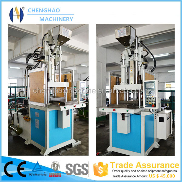 Electrical vertical cutlery plastic injection moulding machine