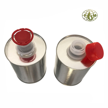 500ml bottle, round metal tin cans, oil can with flexible spout