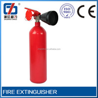 2014 new product gas automatic fire extinguishing systems Extinguisher with bracket