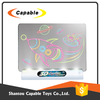 Chinese factories sell directly Kids interesting toys 3d magic drawing board with more funny