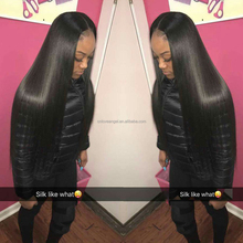 peruvian virgin human hair full lace wig with baby hair