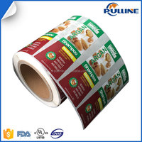 Direct manufacture roll packed permanent adhesive label sticker, laminated bopp/PVC/PE/PP printing label