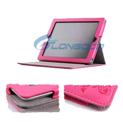 Magic Girl With 3-angle Rotating Stand Leather Case For Tablet Pc for iPad mini Retina