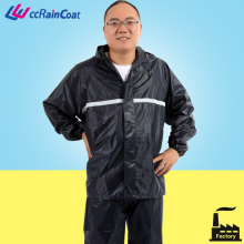 Cheap Waterproof polyester Military Rain Suits