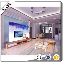 China supplier new arrival bamboo design 3d mural wallpaper
