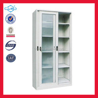 sliding glass-door door display cabinet