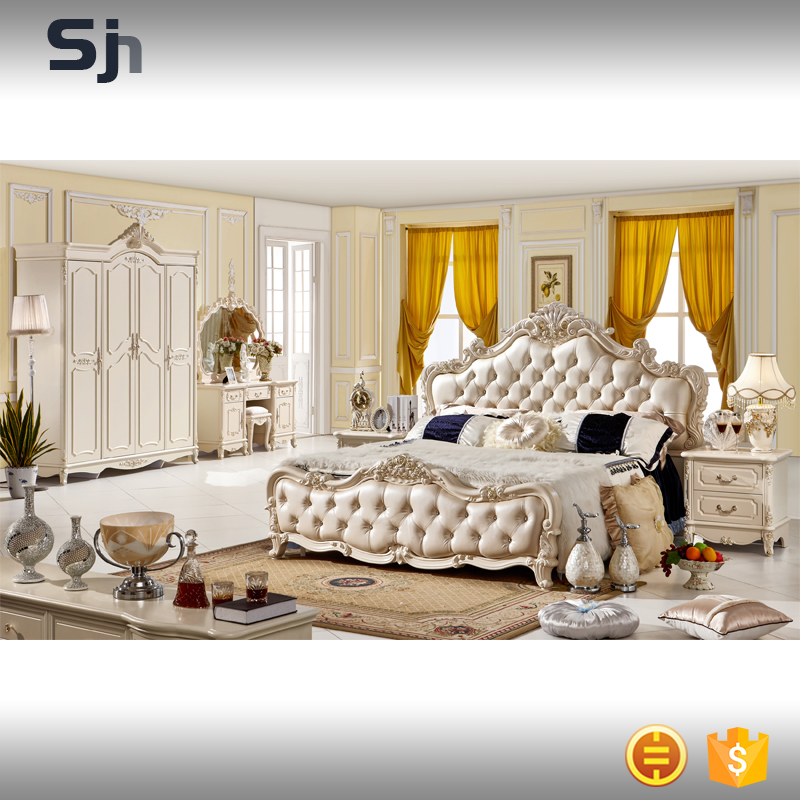 New design modern bedroom furniture set for F907