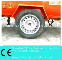 Mobile fast selling foodbus Fast food cart for Hot dog, Burgers, Coffee, Frozen Yogurt, Ice Cream YY-FR220B