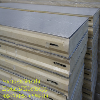 Insulation Fireproof PU cold room panel