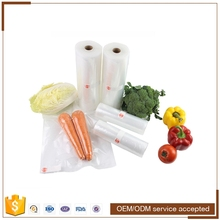 Embossed vacuum plastic frozen food vaccum bag for sea food