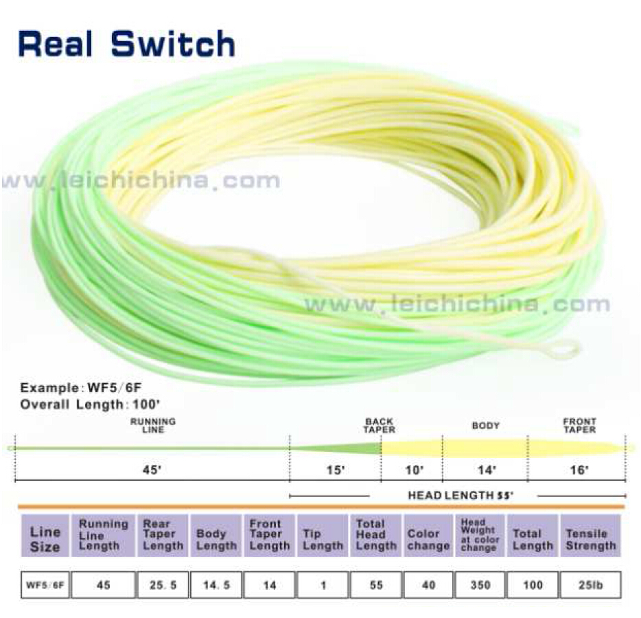 Wholesale top grade real switch fly fishing line buy fly for Best fishing line brand