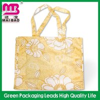 shipping on time strawberry nylon foldable reusable shopping bag